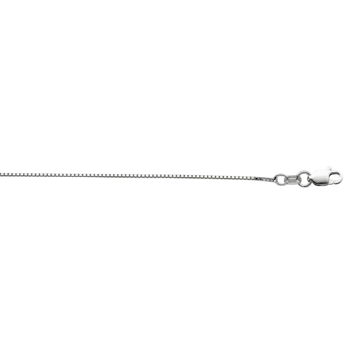 Royal Chain Sterling Silver 0.9mm Box Chain