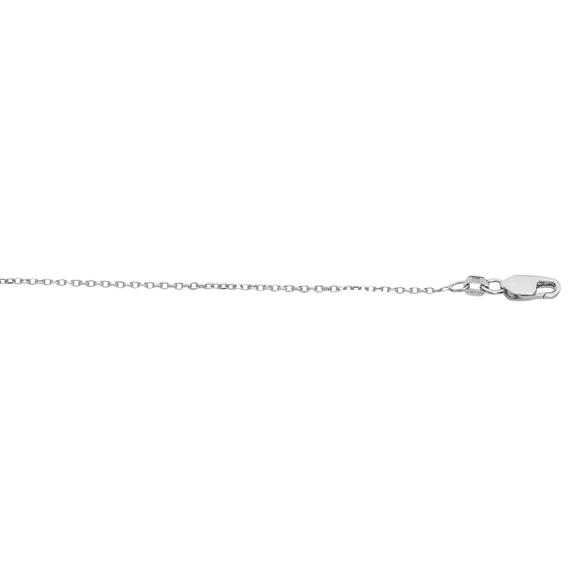 Royal Chain Sterling Silver 1.1mm Cable Chain