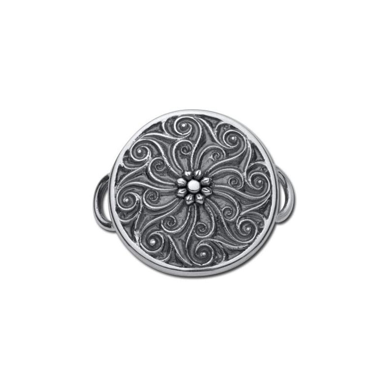 Sterling Silver Charleston Gate Clasp