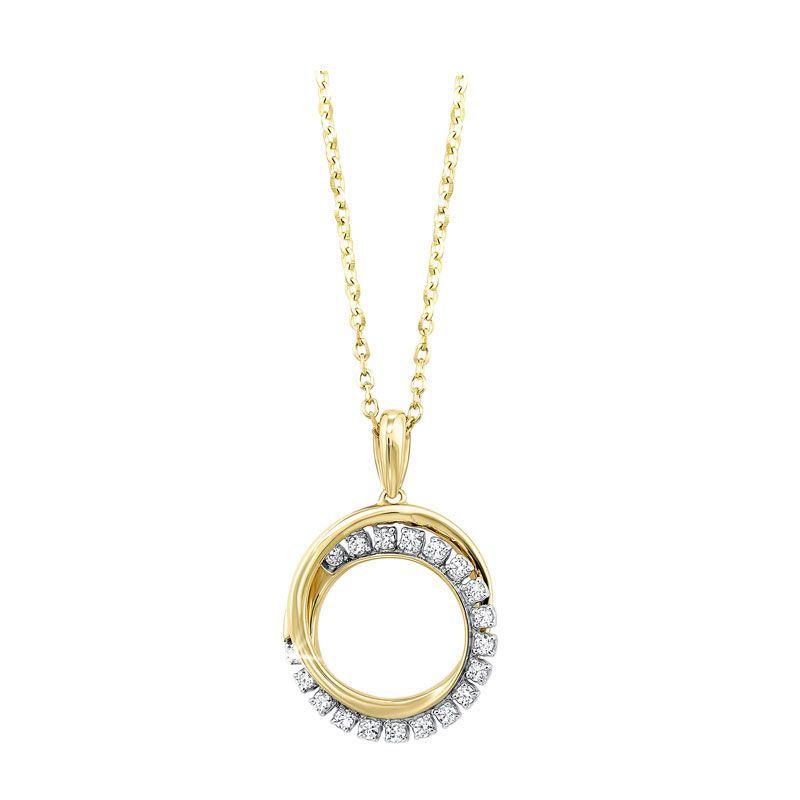 Estate Geneve 14 karat yellow gold diamond mesh watch bracelet