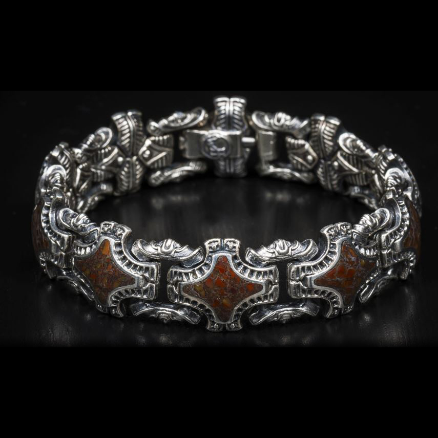 William Henry Sterling Silver Grandis Bracelet