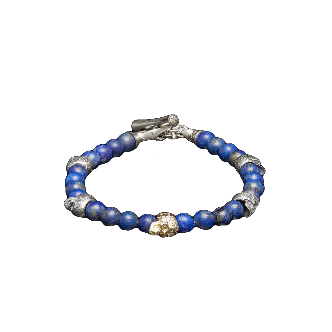 William Henry Sync Skull Bracelet