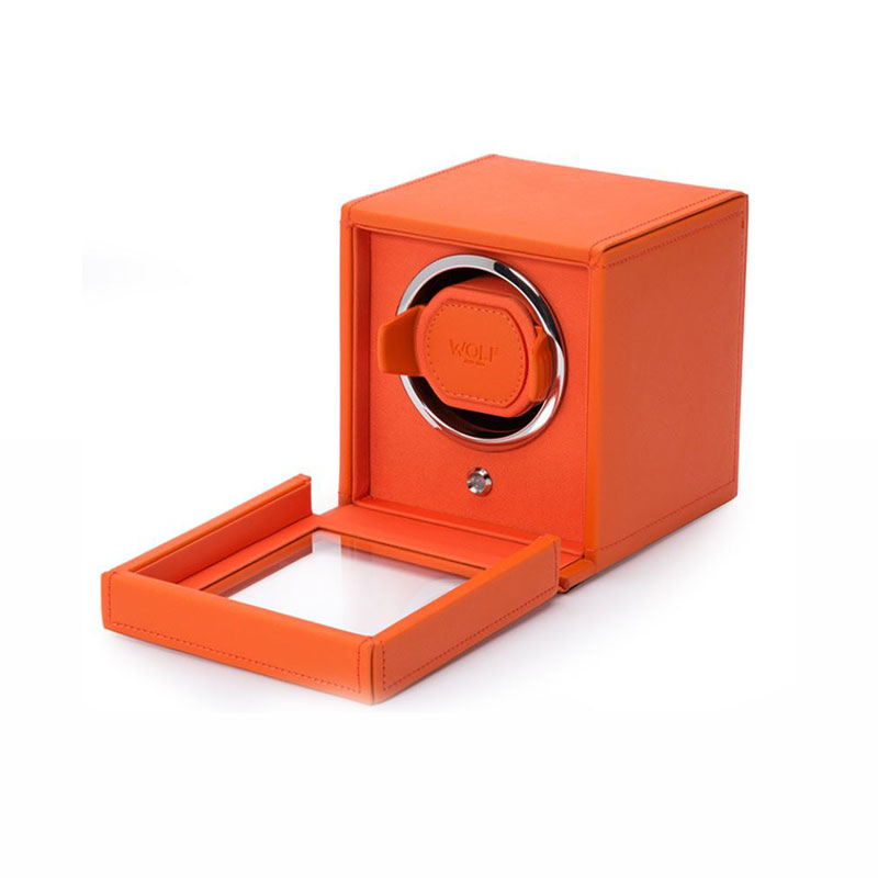 WOLF Cub Orange Single Watch Winder
