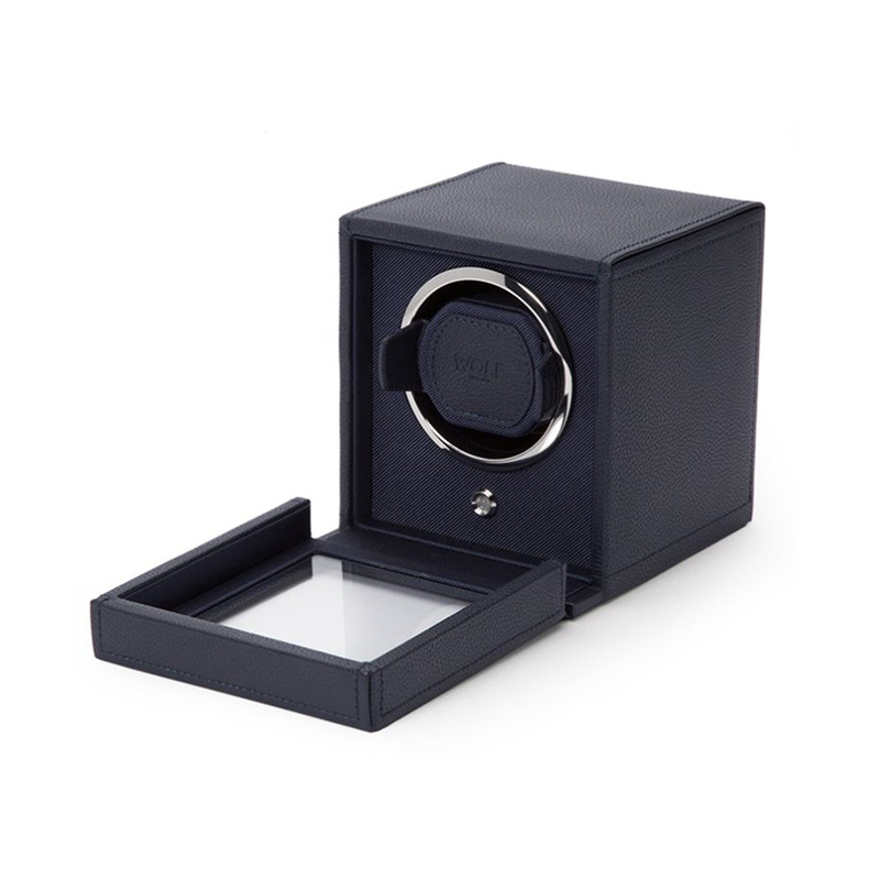 WOLF Cub Navy Single Watch Winder