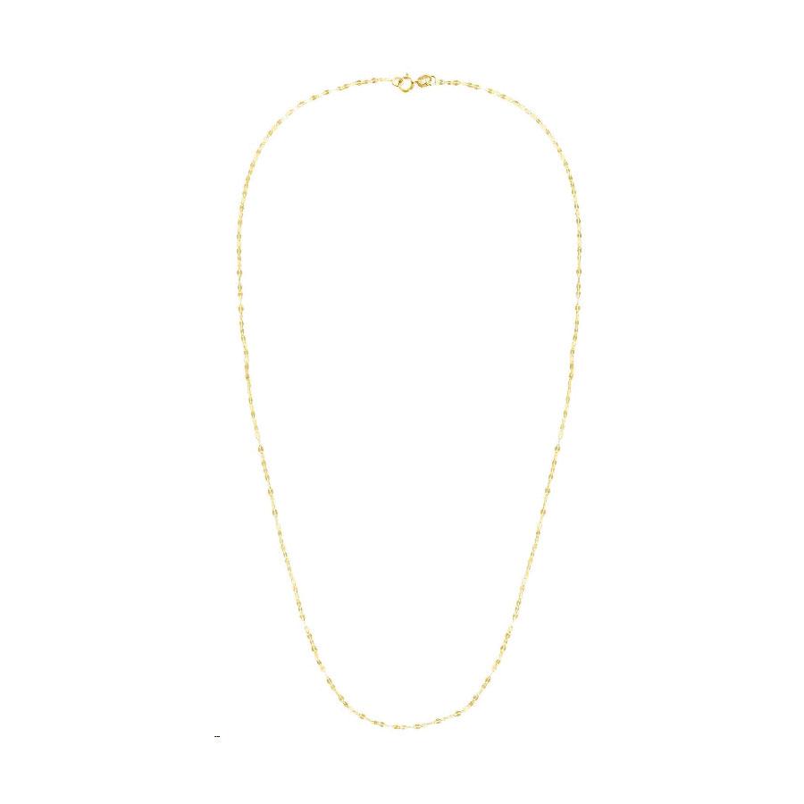 14 Karat Yellow Gold Fancy Chain