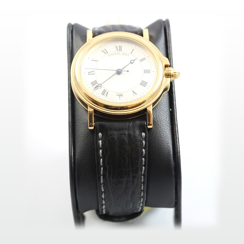 Estate 18 Karat yellow gold breguet 2511f  automatique watch